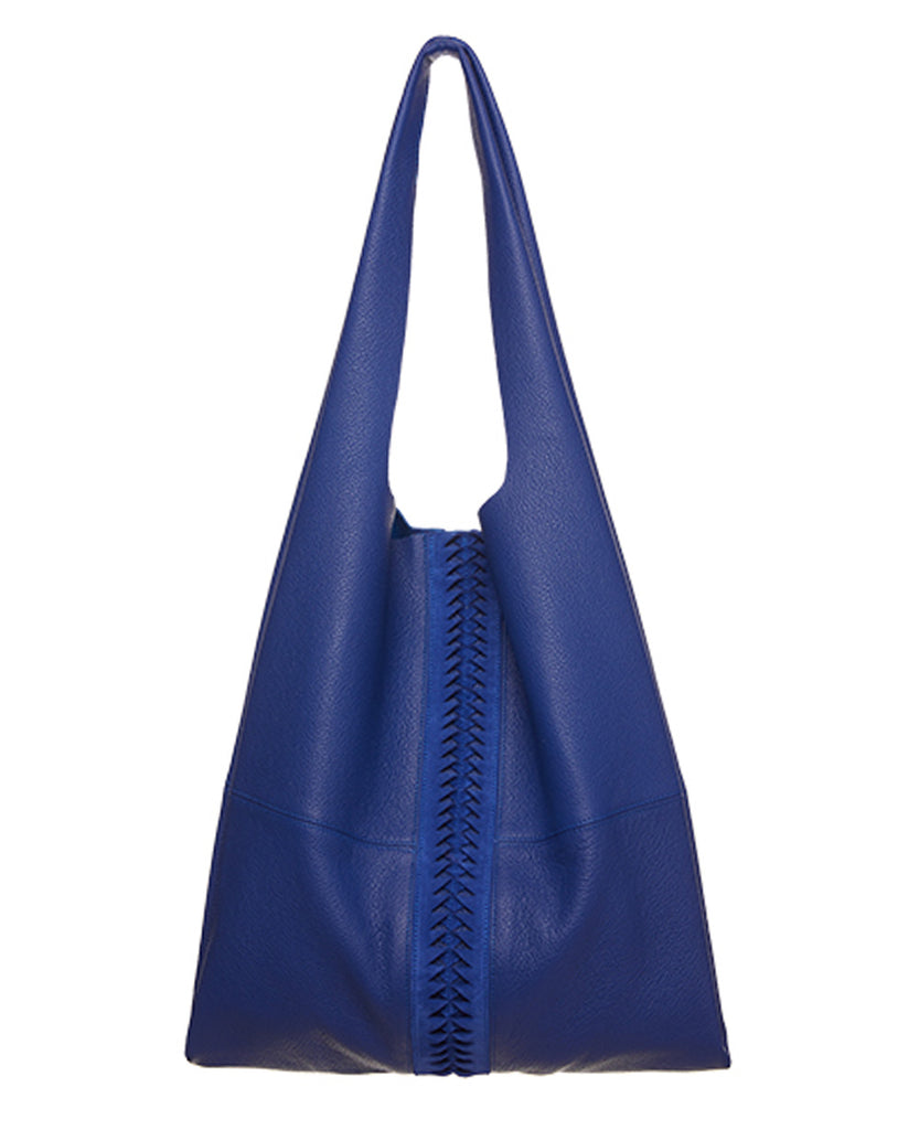 SOFT LEATHER BAG BLUE