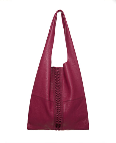 SOFT LEATHER BAG FUCHSIA