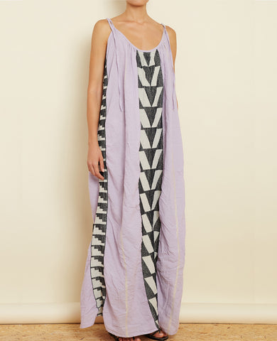 "STRAPPY DRESS ""ATHINA"" LILAC"