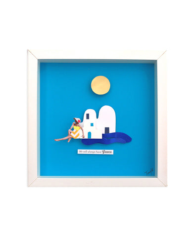 "ART FRAME ""ISLAND MEMORIES"""