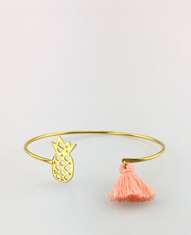 PINEAPPLE BANGLE GOLD