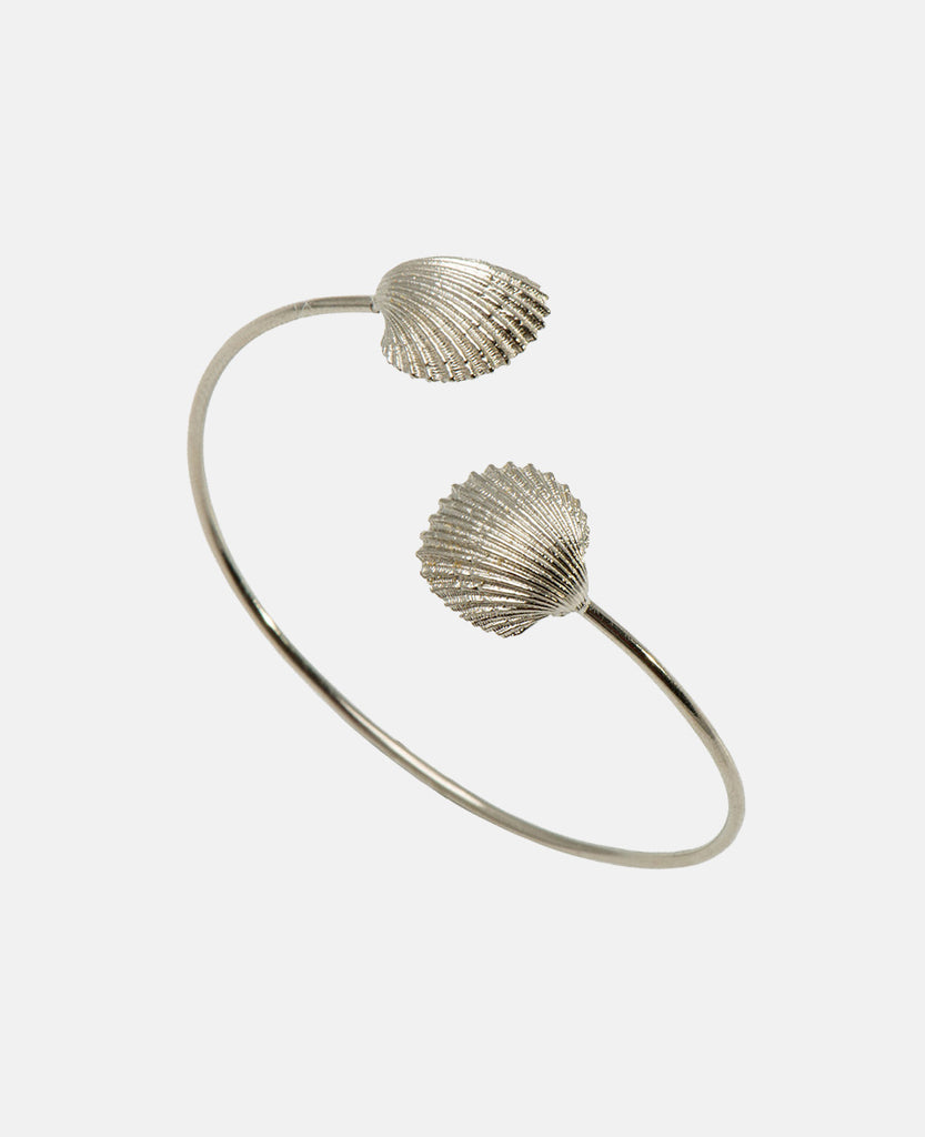 SEASHELL BANGLE SILVER