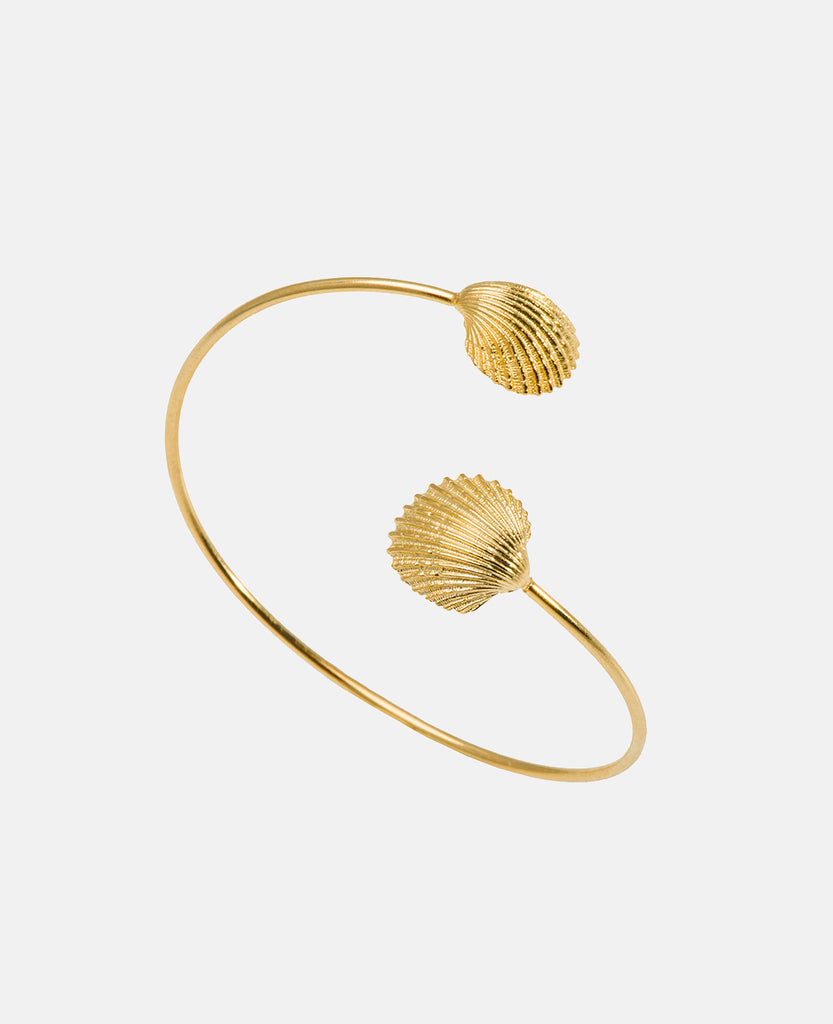 SEASHELL BANGLE GOLD