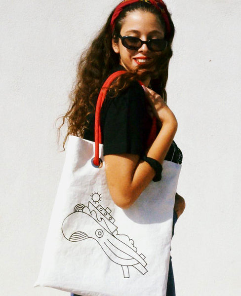 LIMITED EDITION TOTE SALTY BAG X BEETROOT