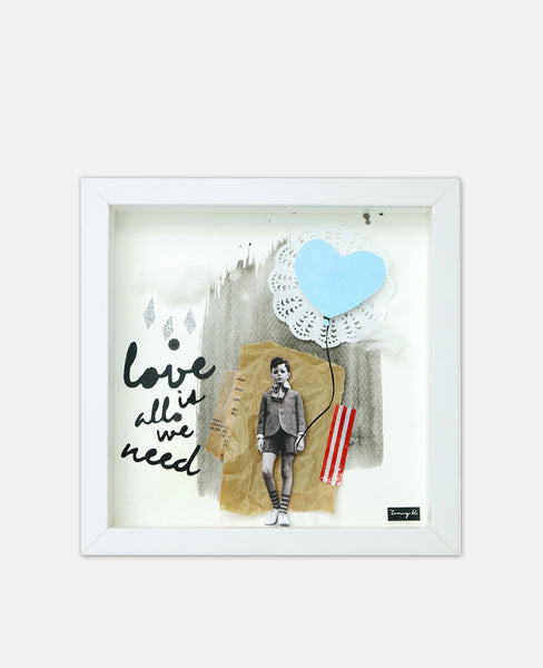 "ART FRAME ""LOVE IS ALL WE NEED"""