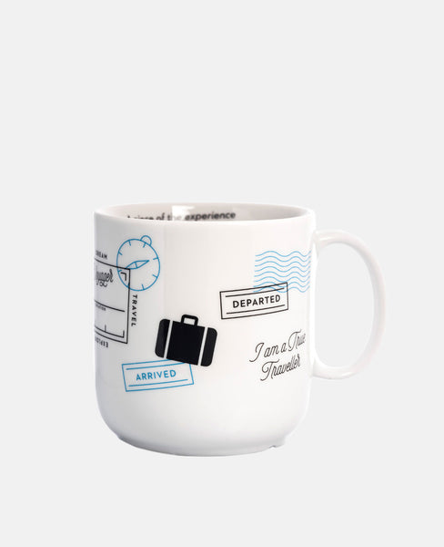 "TASSE ""TRAVEL STAMPS"""