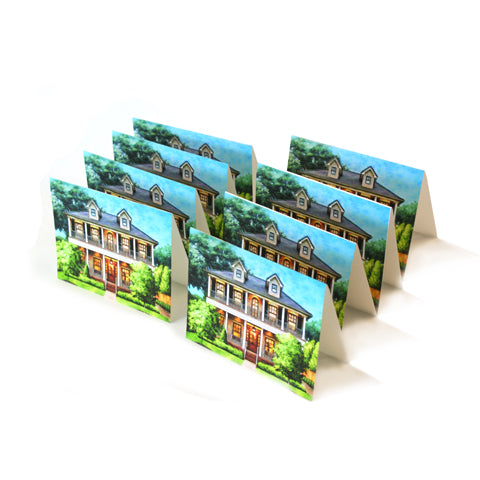 a set of 8 friends and family cards