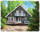 Realtors, create referrals for decades to come through heartfelt gift of a house portrait from McRae portraits