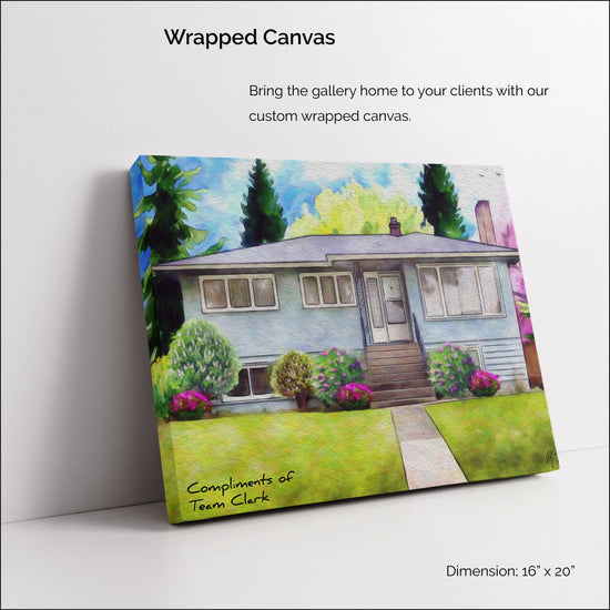Wrapped Canvas $149