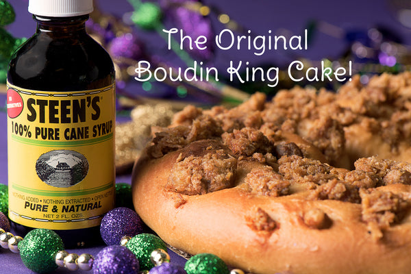Twin's Original Boudin King Cake