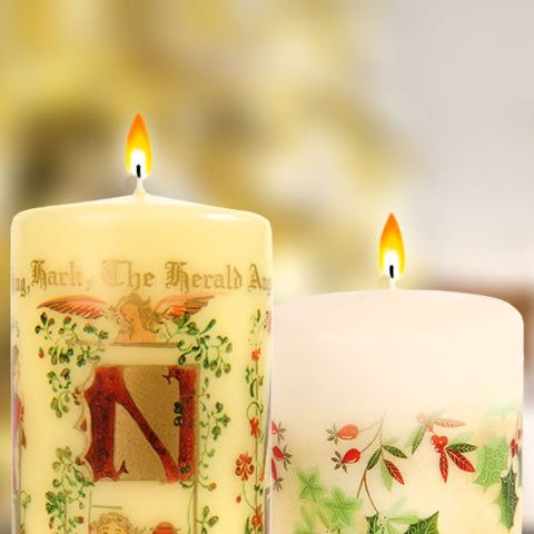 Christmas Themed Music Candles