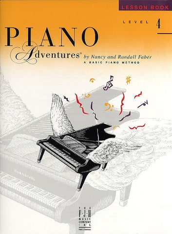 Piano Adventures: Lesson Book - Level 4