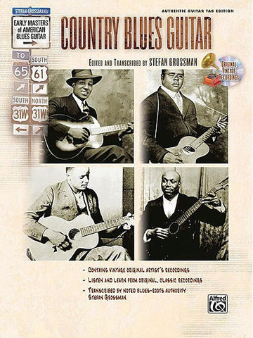 Early Masters of American Blues Guitar: Country Blues Guitar (with CD)