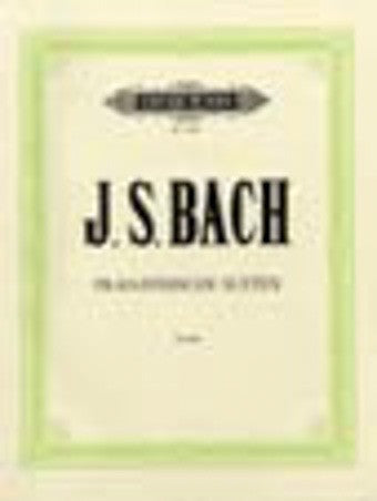 J.S. Bach - Franzosische Suiten (French Suites) - Piano