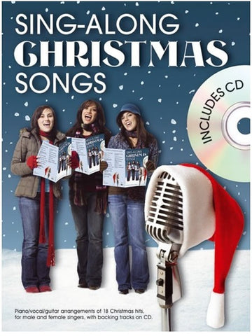 Sing-Along Christmas Songs - Piano, Vocal + Guitar (with CD)