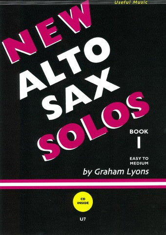 Graham Lyons: New Alto Sax Solos Book 1 (Alto/Baritone Sax/Piano + CD)