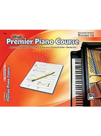 Alfred's Premier Piano Course - Theory Book 1A - Theory