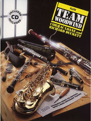 Team Woodwind Flute (with CD)