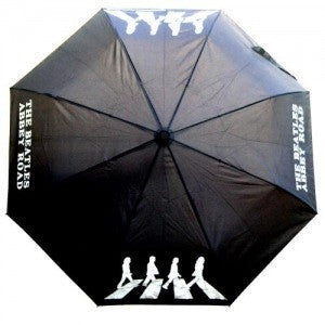 The Beatles Umbrella: Abbey Road - Black