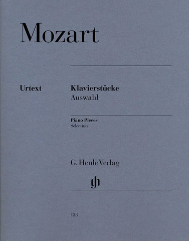 Wolfgang Amadeus Mozart: Piano Pieces - Selection - Urtext Edition