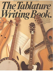 The Tablature Writing Book (Tab Manuscript Book)