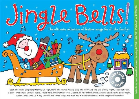 Jingle Bells! - Melody, Lyrics + Chords (with CD)