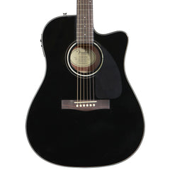 Fender CD-140SCE V2 Acoustic Guitar - Dreadnought - Black