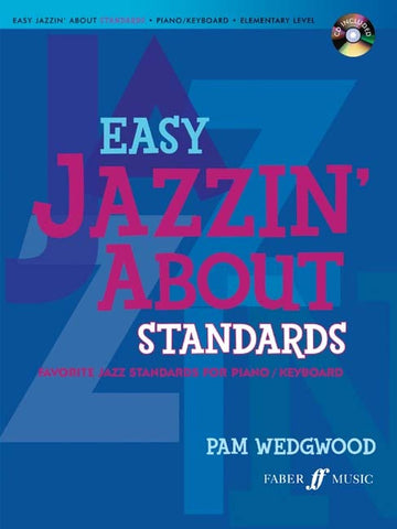 Easy Jazzin' About Standards - Piano/Keyboard (with CD)