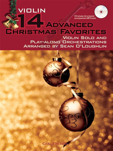 14 Advanced Christmas Favourites - Violin (with CD)