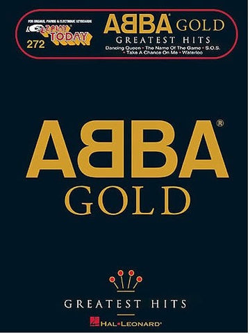 E-Z Play Today 272: Abba Gold - Keyboard