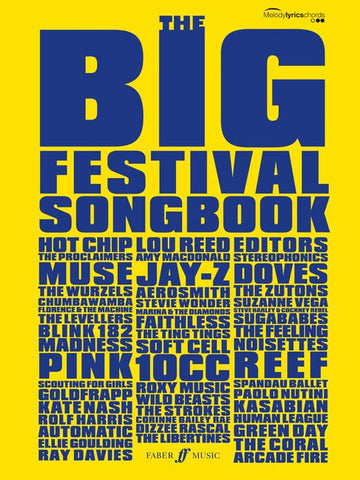 The Big Festival Songbook - Chord Songbook