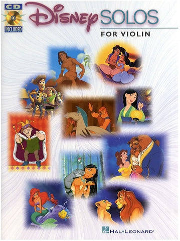 Disney Solos for Violin (with CD)