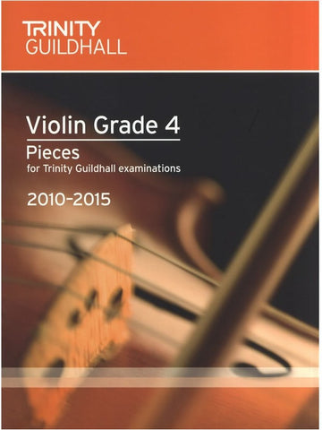 Trinity Guildhall - Violin Pieces 2010-2015 - Grade 4 - Violin + Piano