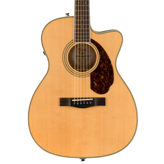 Fender Paramount PM-3 Standard Triple 0 Electro-Acoustic Guitar  in Natural with Hard Case