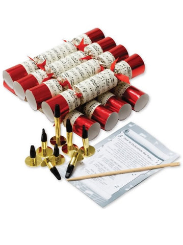 Christmas Crackers with Whistles - Concerto Sheet Music Design (Box of 8)