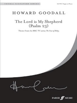 H. Goodall: The Lord is my Shepherd - SATB (Divisi) + Organ/Piano