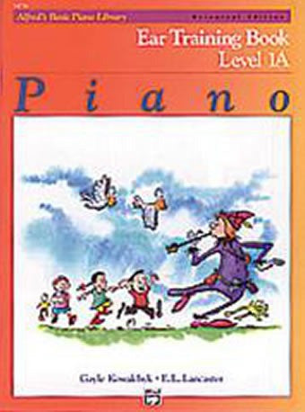 Alfred's Basic Piano Course - Ear (Aural) Training Book - Level 1A