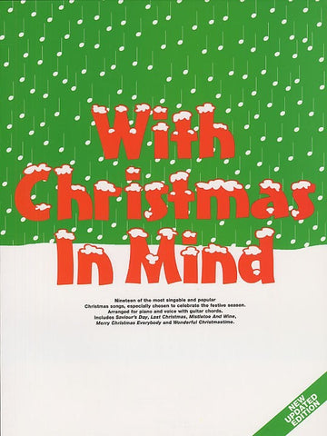 With Christmas In Mind - Piano, Vocal + Guitar