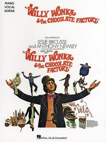 Willy Wonka and the Chocolate Factory - Piano, Vocal + Guitar