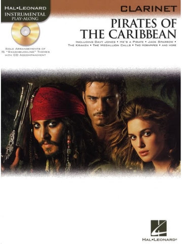 Pirates of the Caribbean - Clarinet (with CD)