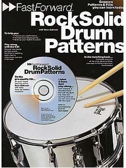 Fast Forward: Rock Solid Drum Patterns (with CD)