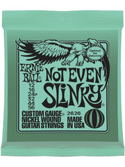 Ernie Ball Not Even Slinky Electric Guitar Strings (12-56) - Set