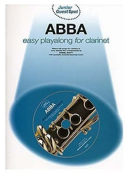 Junior Guest Spot: Abba - Easy Playalong (Clarinet + CD)