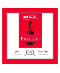 D'Addario Prelude Violin Strings - Medium - 4/4 - Set