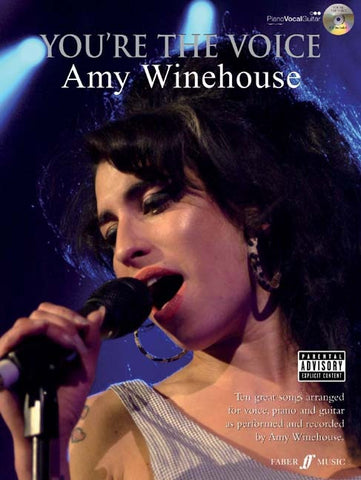 You're the Voice: Amy Winehouse - Piano, Vocal + Guitar (with CD)