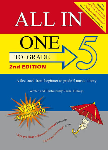 All-In-One to Grade 5 Music Theory (2nd Edition)