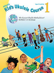Alfred's Kid's Ukulele Course 1 (with CD)