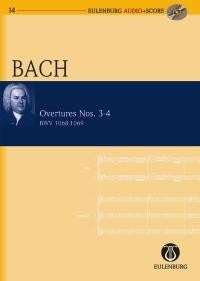 J.S. Bach: Overtures Nos. 3-4 BWV 1068-1069 - Miniature Score (with CD)