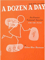 A Dozen A Day Piano Book Four (Lower Higher)