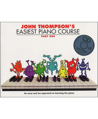 John Thompson's Easiest Piano Course: Part 1 (with CD)